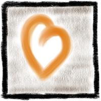 Gezeichnetes Herz